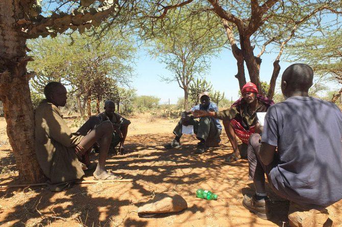 Interviewing herdsmen