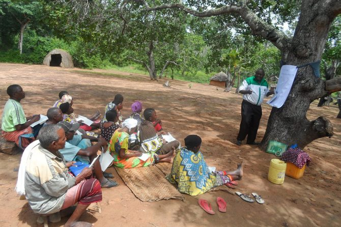Training of community on nursery management