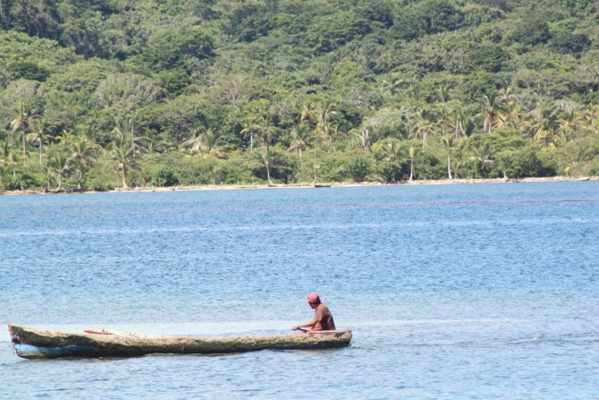 Coastal landscape of Gunayala region