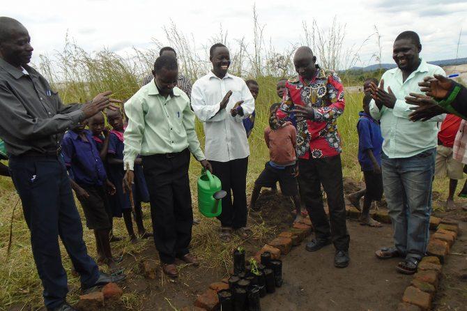Training for primary school teachers on raising tree seedlings