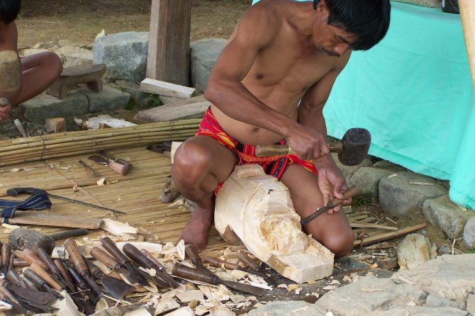 Wood carving, an indigenous practice and important local livelihood