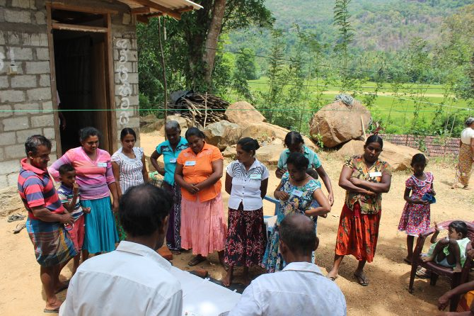 Particiaptary Rapid Assesment Workshop on Kandyna Forest Home Gardening System with the local community